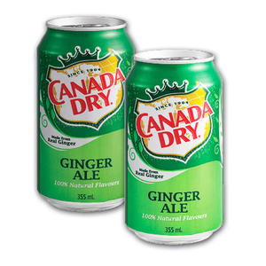Canada Dry Ginger Ale 2 Pack (355ml per can)