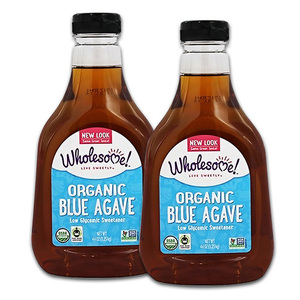 Wholesome! Organic Blue Agave Low Glycemic Sweetener 2 Pack (1.02kg per bottle)
