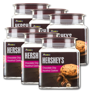 Hershey's Chocolate Chip Hazelnut Cookies 6 Pack (306g per pack)