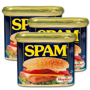 Hormel Spam Luncheon Meat 3 Pack (340g per pack)