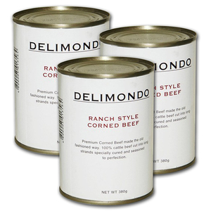 Delimondo Ranch Style Corned Beef 3 Pack (380g per pack)