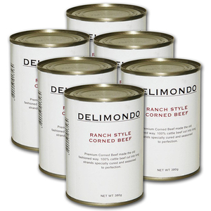 Delimondo Ranch Style Corned Beef 6 Pack (380g per pack)