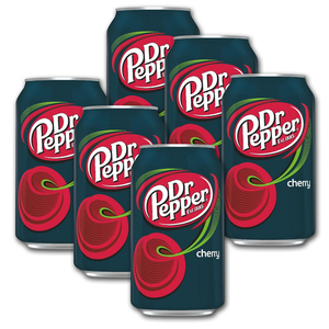 Dr. Pepper Cherry 6 Pack (355ml per pack)