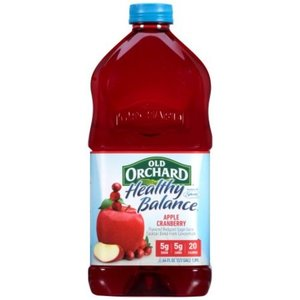 Old Orchard Healthy Balance Apple Cranberry Juice Cocktail 1.89L