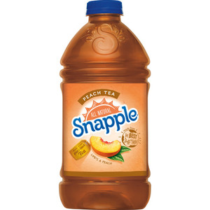 Snapple All Natural Peach Tea 946ml