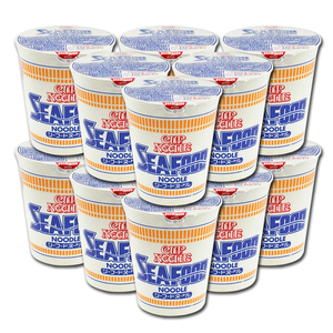 Nissin Cup Noodles Seafood Noodle 12 Pack (75g per cup)