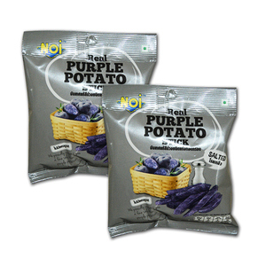 Noi Real Salted Purple Potato Stick 2 Pack (16g per pack)