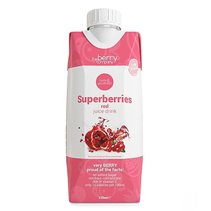 The Berry Company Superberries Red Juice Drink 330ml