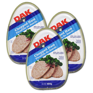 Dak Chopped Ham Picadillo de Jamon 3 Pack (454g per can)