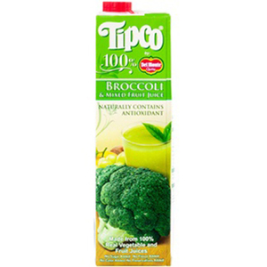 Tipco 100% Broccoli and Mixed Fruit Juice for Del Monte 1L