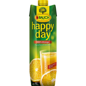 Rauch Happy Day 100% Orange Juicy Bits 1L