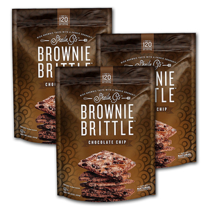 Sheila G's Brownie Brittle Chocolate Chip 3 Pack (454g per pack)