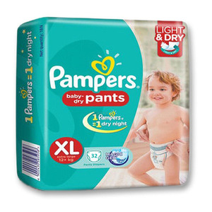 Pampers Baby Dry Pants 32's XLarge