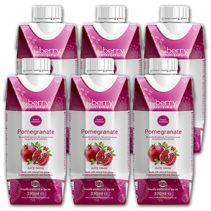 The Berry Company Pomegranate Juice Drink 6 pack (330ml per pack)