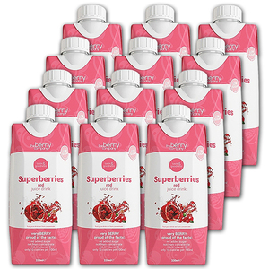 The Berry Company Superberries Red Juice Drink 12 Pack (330ml per pack)