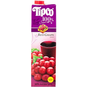 Tipco 100% Red Grape Juice for Del Monte 1L