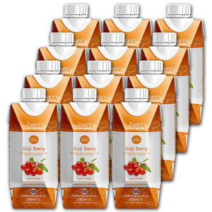 The Berry Company Goji Berry Fruit Juice 12 Pack (330ml per pack)