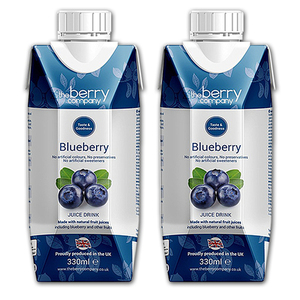 The Berry Company Blueberry Fruit Juice 2 Pack (330ml per pack)