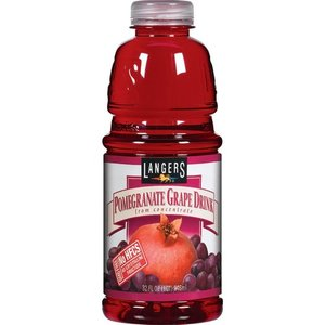 Langers Pomegranate Grape Drink 946ml