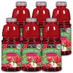 Langers Cranberry Apple Juice 6 Pack (946ml per pack)