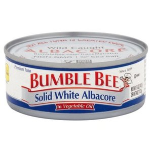 Bumble Bee Solid White Albacore in Vegetable Oil Tuna 142g