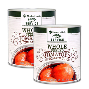 Member's Mark Whole Peeled Tomato 2 Pack (2.89kg per can)