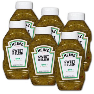 Heinz Sweet Relish 6 Pack (769ml per pack)