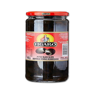 Figaro Black Pitted Olives 450g