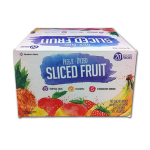 Member's Mark Freeze Dried Sliced Fruit Snacks 20 Count