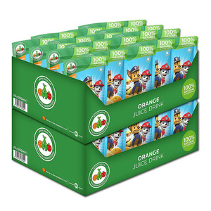 Paw Patrol Orange Juice 2 Pack (20's per box)