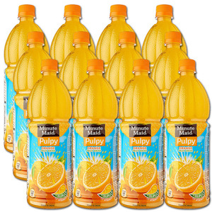Minute Maid Pulpy Orange 12 Pack (1L per bottle)