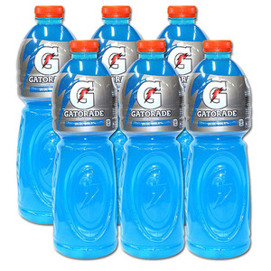Gatorade Blue Bolt 6 Pack (1.5L per bottle)