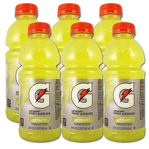 Gatorade G Series Lemon Lime 6 Pack (591ml per bottle)