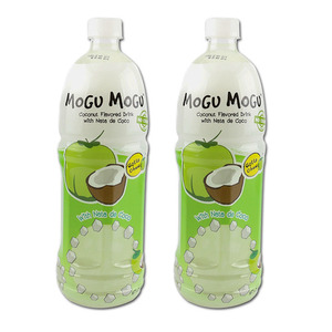 Mogu Mogu Coconut Flavored Drink 2 Pack (1L per bottle)
