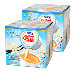 Nestle Coffeemate French Vanilla 2 Pack (180 Count per box)