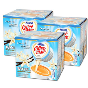 Nestle Coffeemate French Vanilla 3 Pack (180 Count per box)