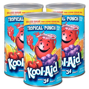 Kool-Aid Tropical Punch 3 Pack (2.33kg per can)