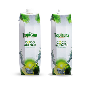 Tropicana Coco Quench Coconut Water 2 Pack (1L per pack)