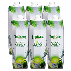 Tropicana Coco Quench Coconut Water 6 Pack (1L per pack)