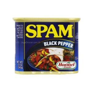 Hormel Spam Black Pepper Luncheon Meat 340g