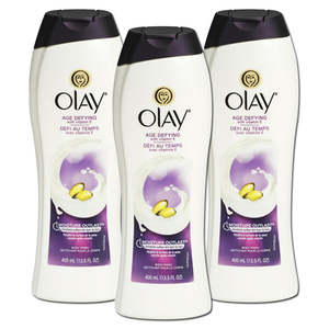 Olay Age Defying Body Wash 3 Pack (399ml per bottle)