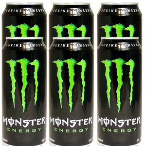 Monster Energy Drink 6 Pack (473ml per can)