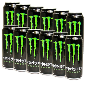 Monster Energy Drink 12 Pack (473ml per can)