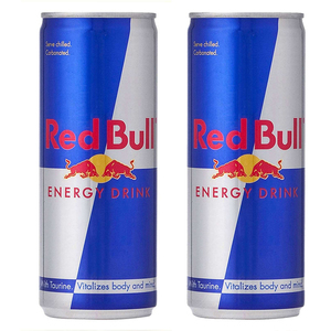 Red Bull Energy Drink 2 Pack (250ml per bottle)