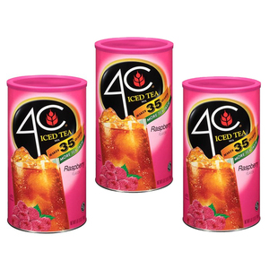 4C Iced Tea Raspberry 3 Pack (223g per can)