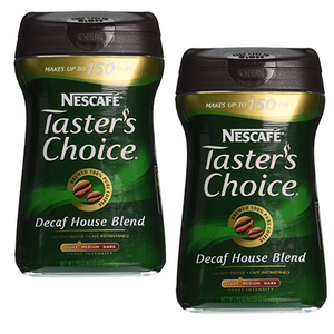 Taster's Choice DeCaffeinated Coffee 2 Pack (283g per pack)