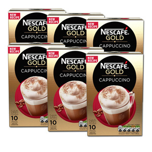 Nescafe Gold Cappuccino 6 Pack (10's per box)