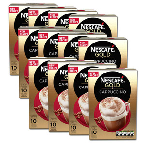 Nescafe Gold Cappuccino 12 Pack (10's per box)