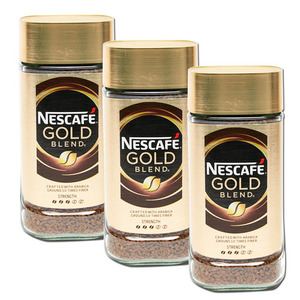 Nescafe Gold Coffee 3 Pack (175g per bottle)