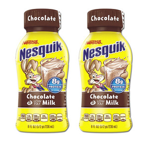 Nestle Nesquik Chocolate Milk 2 Pack (236ml per bottle)